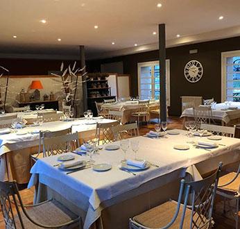restaurante del hotel Posada la Alameda